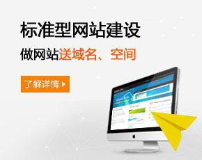 标准型网站建设报价 2980元/起(活动促销价)